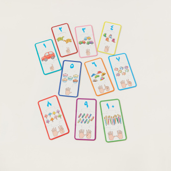 Juniors Arabic Counting Numbers Set