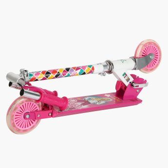 Barbie Printed Street Scooter