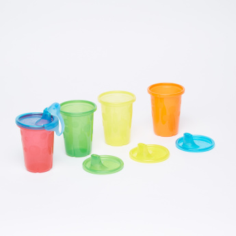 The First Years Take & Tool Spill Proof Cup - Set of 4