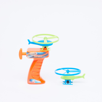 Simba 3-Piece Flying Zone Toy Shooter and Sky Copter Set
