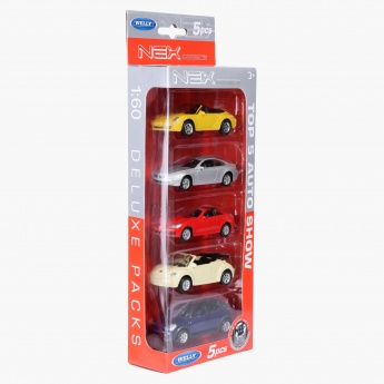 Welly 5-Piece Car Set