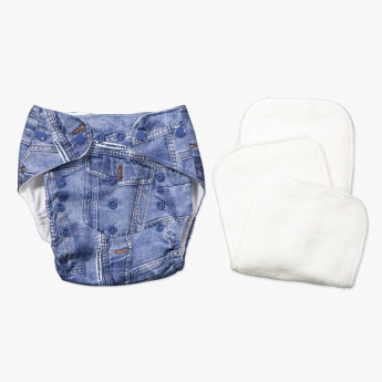 Juniors Diaper Briefs with 2 Nappy Pads
