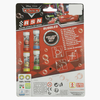 Cars Soap Bubbles Toy - Set of 3