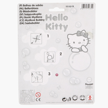 Hello Kitty Bubble Blister - Set of 3