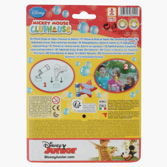 Mickey Mouse Clubhouse Bubble Gun with Bubble Solution