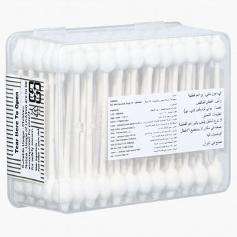 Ai-NON Safety Cleaning Twin Cotton Buds