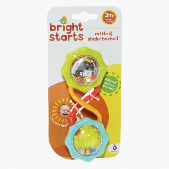 Bright Starts Barbell Rattle