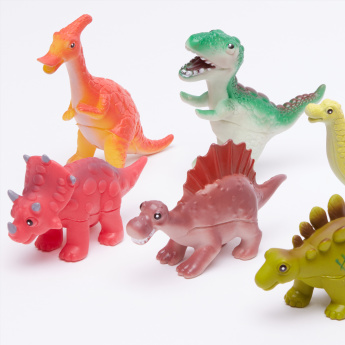 Juniors ASSORTED 6-Piece Dinosaur Playset
