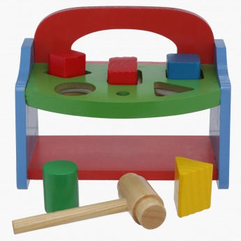 Juniors My First Wooden Pounding Bench