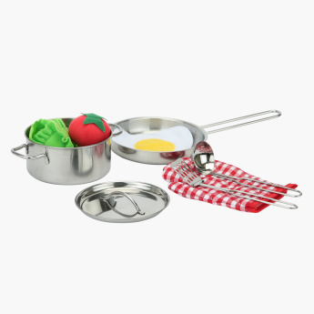 Just for Chef 9-Piece Cookware Play Set