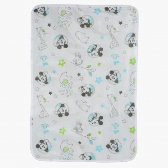 Mickey Mouse Printed Changing Mat