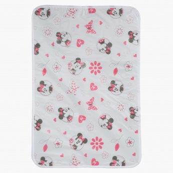 Minnie Mouse Print Rectangular Changing Pad