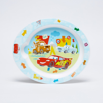 Cars Printed 5-Piece Dinner Set