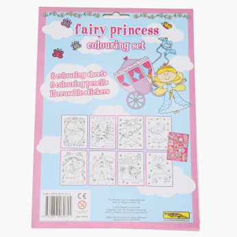 Fairy Princess Colouring Set