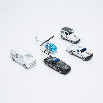 Welly 5-Piece Vehicle Playset