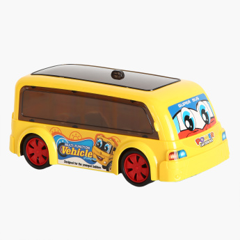 Juniors Power Cartoon Bus with Light and Music