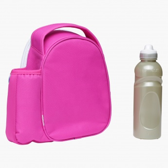 Smash Printed Lunch Bag and Water Bottle Set