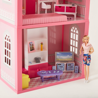Juniors My Dream Doll House Playset