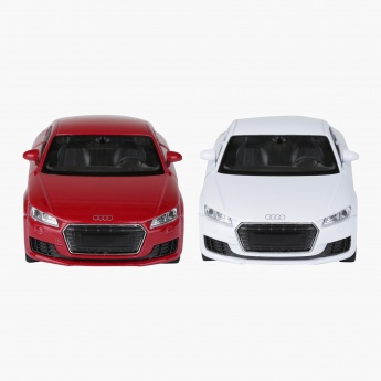 Welly Diecast Audi TT Pull Back Twin Car Pack