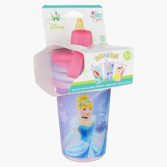 The First Years Princess Sippy Cup - Set of 3