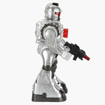 Remote Control Missile Shooting Toy Robot