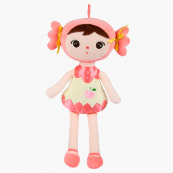 Juniors Peach Doll Plush Toy