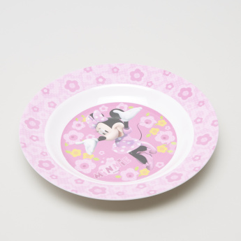 Minnie Mouse Printed Plate