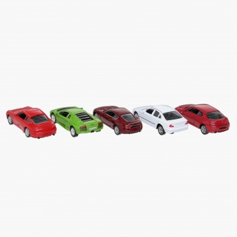 Welly 1:60 Deluxe Car - Set of 5