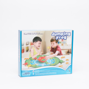 Jumping Frog Board Game