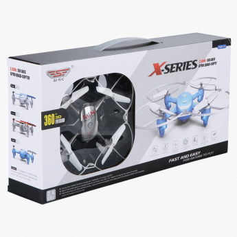 Juniors 2.4 GHz Gyro Quad-Copter