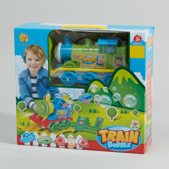 Bubble Train Playset