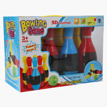 Bowling Playset with Lights