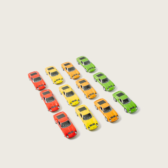 Kinsmart 1971 Lamborghini Miura P400 Sv Toy Car Multicolour Made