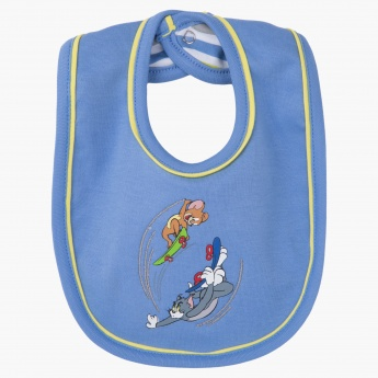 Tom and Jerry Printed Bib