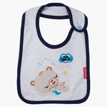 Fisher Price Striped Bib