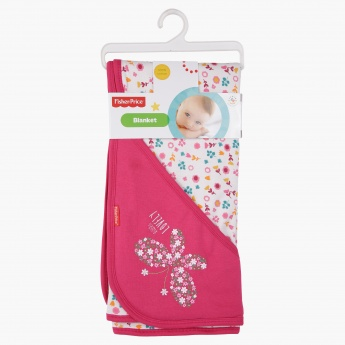 Fisher Price Printed Receiving Blanket