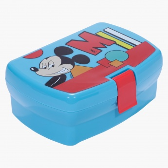 Mickey Mouse Latch Sandwich Box