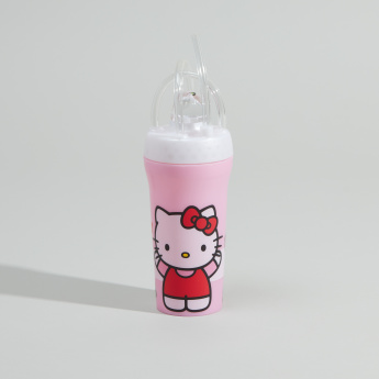 Hello Kitty Printed Tumbler with Lid