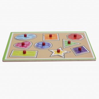 Juniors 12-Piece Shape Puzzle