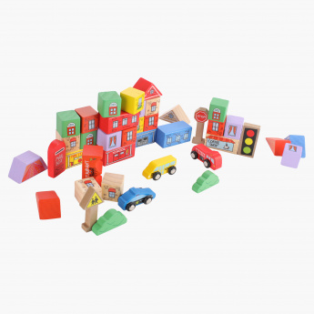 Juniors City Blocks Playset