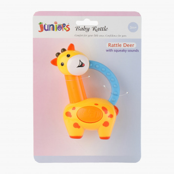 Juniors Musical Deer Rattle