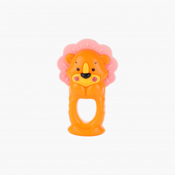 Juniors Squeaky Lion Rattle