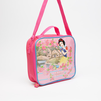 Snow White Printed Lunch Bag with Adjsutable Strap