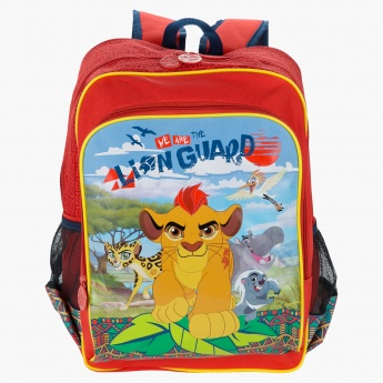 The Lion Guard Printed Backpack