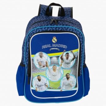 Real Madrid Printed Backpack