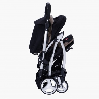 Juniors Baby Stroller with Adjustable Safety Harness