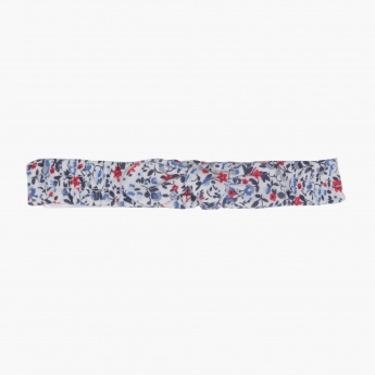 Juniors Floral Print Head Band