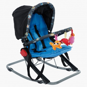 Juniors Volcano Baby Rocker