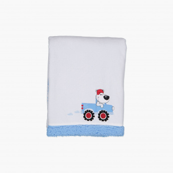Juniors Embroidered Blanket - 76x102 cms