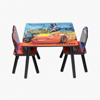 Cars Printed Table and Chair Set